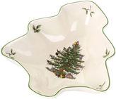 Spode Christmas Tree-Shaped Dish