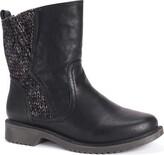 MUK LUKS Women's Karlie Boots-Black 6