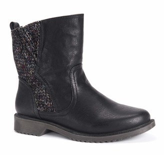 Muk Luks Women's Karlie Boots-Black 8
