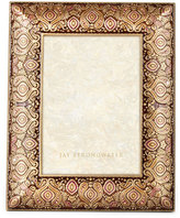 "Jay Strongwater Brocade 5"" x 7"" Frame"