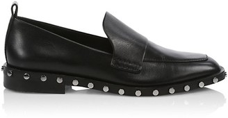 3.1 Phillip Lim Alexa Studded Leather Loafers