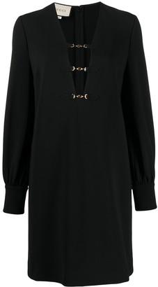 Gucci GG Horsebit dress