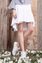 J.o.a. Asymmetric Hem Skirt