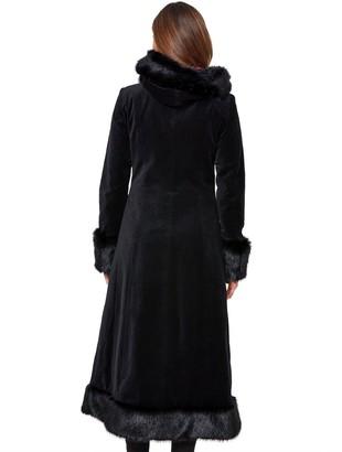 Joe Browns Ultimate Velvet Coat - Black