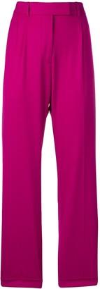 Calvin Klein High-Rise Straight Trousers