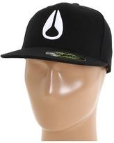 Nixon Deep Down Flexfit 210 Fitted Hat (Black) - Hats