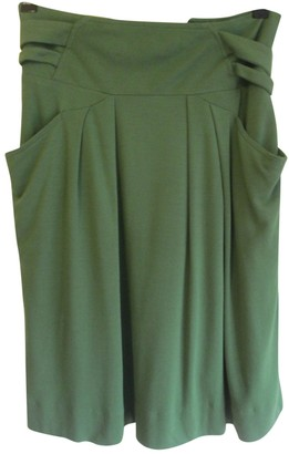 Christian Wijnants Green Cotton Skirts