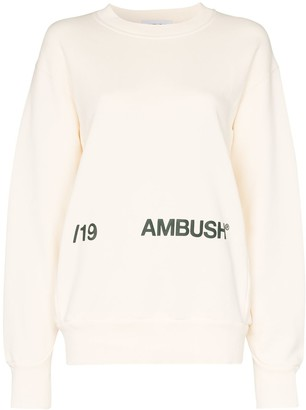 Ambush Graphic Print Jumper