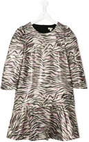 Kenzo tiger stripe dress