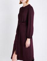 Raquel Allegra Oversized satin dress