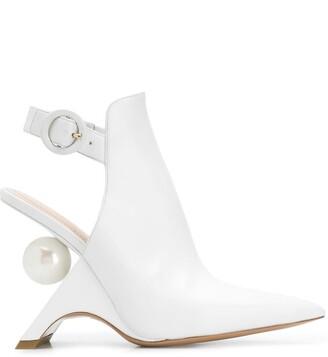 Nicholas Kirkwood Jazzelle sling boots