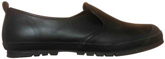 Comme des Garcons Black Leather Trainers