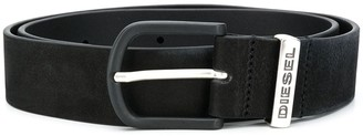 Diesel Branded Leather Belt