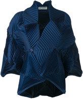 Issey Miyake plissé jacket - women - Polyester/Polyurethane - 2