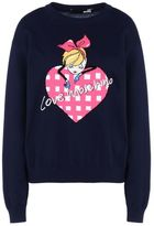 Love Moschino OFFICIAL STORE Long sleeve jumper