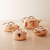 Mauviel Copper 8-Piece Cookware Set