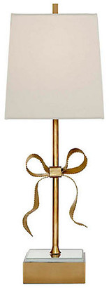 Kate Spade Ellery Table Lamp - Soft Brass/Cream
