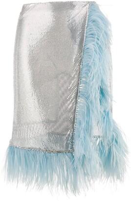 Christopher Kane Chain Mail Wrap Skirt
