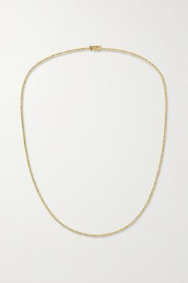 STONE AND STRAND 14-karat Gold Diamond Necklace - one size