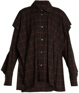 Vivienne Westwood Fever checked cotton-blend shirt