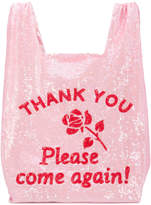 Ashish sequinned shopping tote bag
