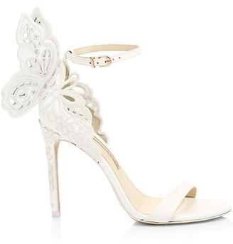 Sophia Webster Chiara Broderie Leather Sandals
