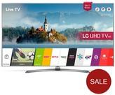 LG Electronics 55UJ750V 55 Inch, 4K Ultra HD Certified HDR, Smart TV