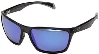 Maui Jim Makoa (Gloss Black/Neutral Grey) Fashion Sunglasses