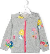 Stella McCartney floral print hoodie - kids - Cotton - 24 mth