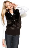 MICHAEL Michael Kors Faux-Fur Toggle Vest