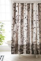 Urban Outfitters Birch Tree Shower Curtain