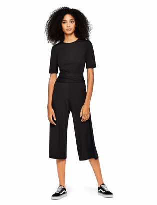 Find. Amazon Brand Women's Rib Cropped Jersey Jumpsuit