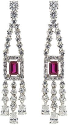 FANTASIA Emerald Cut Drop Earrings