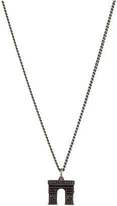 Balenciaga Paris Arch necklace