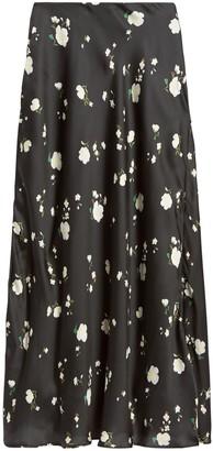 Banana Republic Soft Satin Slip Skirt