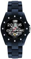 Game Time Men's 'Stanley Cup Champion 2016' Quartz Metal and Rubber Watch