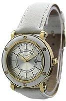 Esprit Women's ES104042005 Deco Gold White Classic Fashion Analog Wrist Watch