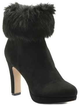 Adrienne Vittadini Peeve Booties Women's Shoes