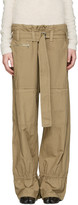 Acne Studios Beige Ibbie Utility Trousers