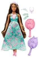 Mattel Barbie Dreamtopia Color Stylin' Princess Doll - African-American