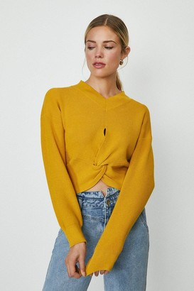 Coast Twist Front Knitted Jumper