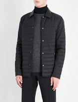 Salvatore Ferragamo Gancio quilted shell jacket