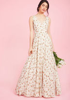 A Matter of Magnificence Maxi Dress in L