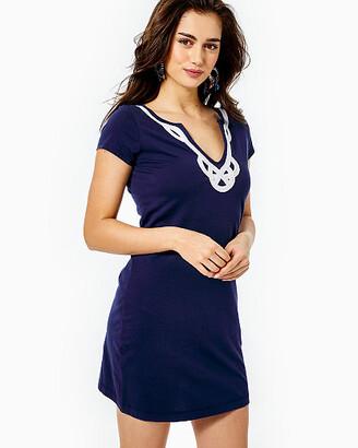 Lilly Pulitzer Womens Brewster T-Shirt Dress