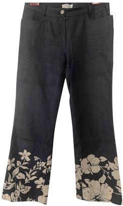 Celine Blue Cotton - elasthane Jeans
