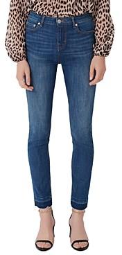 Maje Presto High-Rise Skinny Jeans in Blue