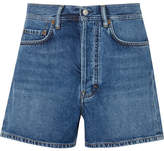 Acne Studios Swamp Denim Shorts - Mid denim