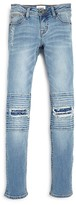 Hudson Girls' Muse Skinny Patched Jeans - Sizes 7-16
