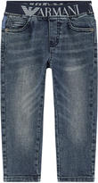 Armani Junior Boy regular fit jeans