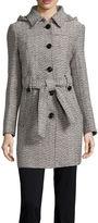 Liz Claiborne Belted Pea Coat